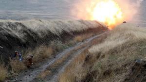 Ermeni askerlerinin döşediği mayın patladı! 1 kişi öldü