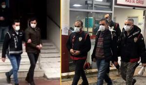 Firari eski emniyet müdürünün de aralarında bulunduğu 16 FETÖ üyesi tutuklandı