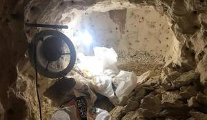 Gaziantep'te define için tünel açan şüpheliler suçüstü yakalandı