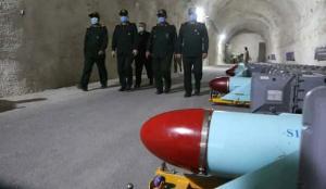 İran yine yaptı yapacağını! İHA şovundan sonra şimdi de yeraltı füze üssüne indiler
