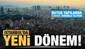 İstanbul'da yeni dönem: Büyük yapılarda sarnıç zorunlu oluyor