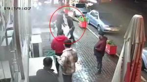 İzmir'deki haraç dehşeti kamerada!