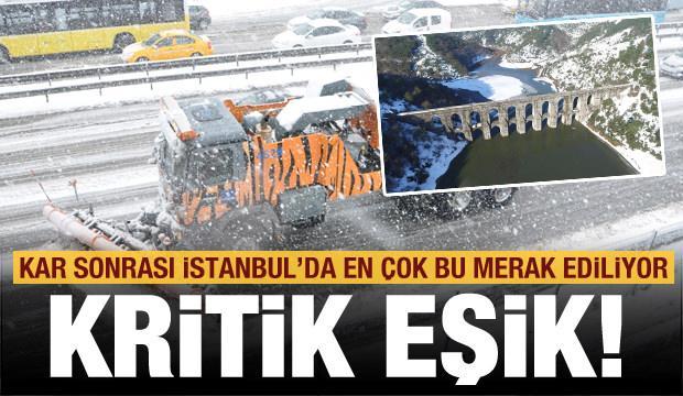 Kar yağışı sonrası İstanbul'da en çok bu merak ediliyor! Kritik eşik…