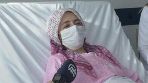 Koronavirüs yüzünden hastaneye gitmiyordu: Karnından 6 kiloluk kitle çıktı