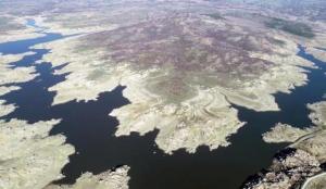 Kuruyan Kayalıköy Barajı'nda doluluk oranı yüzde 30'a yükseldi