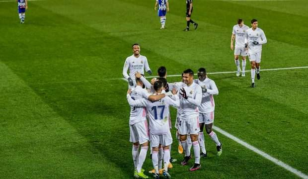 Real Madrid, Alaves'i farklı geçti