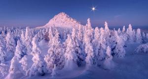 Rusya'nın muhteşem kış manzaraları