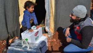 Sadakataşı'ndan İdlib'e sel yardımı