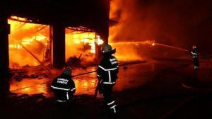 Samsun'da korku dolu anlar: Alev alev yanıyor