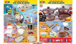 ŞOK 29 Ocak Aktüel Kataloğu | Elektrikli ürünler, tekstil, züccaciye ev aletlerinde…