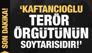 """Son dakika: """"Canan Kaftancıoğlu terör örgütlerinin soytarısıdır"""""""