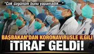 Son dakika: Ülke Başbakanı'ndan koronavirüs itirafı geldi: Çok üzgünüm bunu yapamadık!