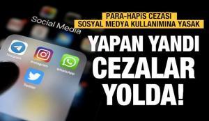 Sosyal medya cezaları yolda!