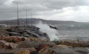 Trakya'da Fırtına Uyarısı