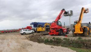 Türkiye'nin söz verdiği hastanenin yapımına başlandı