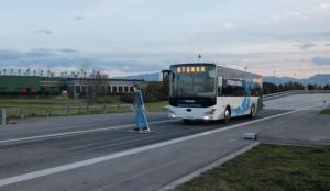 Türkiye'nin sürücüsüz otobüsü Otokar, testleri başarıyla geçti