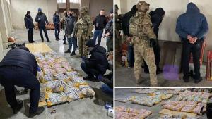 Ukrayna tarihinin en büyük uyuşturucu operasyonunda 4 Türk vatandaşı gözaltına alındı
