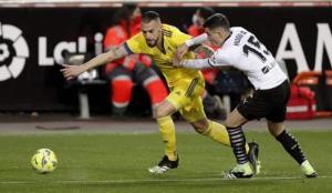 Valencia, Cadiz ile berabere kaldı