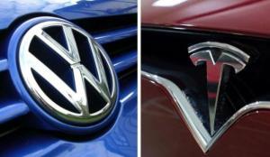 Volkswagen'den Elon Musk'ın Tesla'sına gönderme