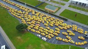 Yenikapı'da taksimetre güncelleme kuyruğu: Taksiciler akın etti