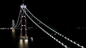 1915 Çanakkale Köprüsü ışıl ışıl: Boğazın çehresi değişti