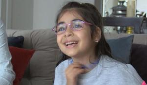 7 yaşındaki Elçin 20 yaşına kadar tedavi olmazsa görme yetisini kaybedecek!