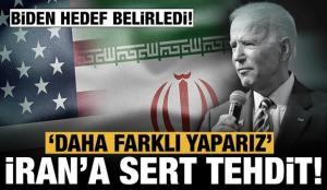 ABD'den İran'a tehdit gibi sözler: Hafif kafa sallamadan daha farklı yaparız