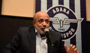 Adana Demirspor Başkanı Murat Sancak istifadan vazgeçti