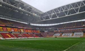 Ali Sami Yen'de son durum, kar yağmazsa!