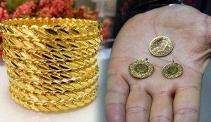 Altın fiyatları yeniden geriliyor! 12 Şubat Çeyrek altın Gram altın Bilezik alış satış fiyatı