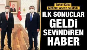 Aşılamada ilk sonuçlar geldi: Sağlık Bakanı Koca'dan sevindirici haberler var