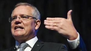 Avustralya Başbakanı Morrison'dan Facebook'a reaksiyon