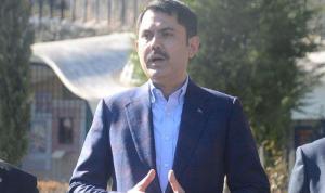 """Bakan Murat Kurum'dan """"seçim"""" açıklaması"""