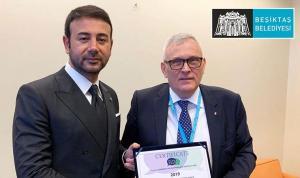 Beşiktaş Belediyesi'ne Avrupa Konseyi'nden yerel demokrasi ödülü!