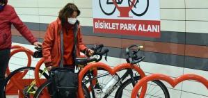 """Çevreci İstanbul Metro'suna """"bisiklet parkları"""""""