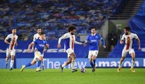 Crystal Palace, Brighton'ı 90+5'te attığı golle mağlup etti