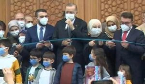 Cumhurbaşkanı Erdoğan, Ahmet Erdoğan Camii'si açılışını yaptı