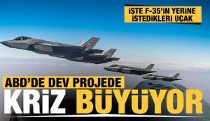 Dev projede kriz büyüyor: F-35 yerine F/A-18 Super Hornet!
