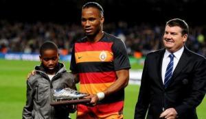 Didier Drogba'nın oğlu Isaac Drogba Caratese'de!