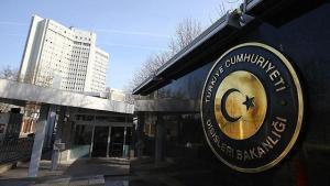 Dışişleri Bakanlığı: 'Hiç Kimse Türk Mahkemelerine Emir Veremez'