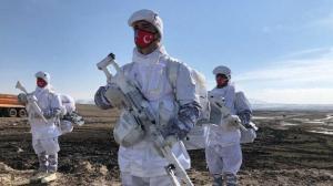 Eksi 30 derecede omuz omuza: TSK ve Azerbaycan Ordusu'ndan nefes kesen tatbikat