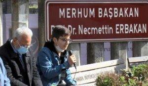 Erbakan Hoca ölümünün 10. yıl dönümünde mezarı başında anıldı