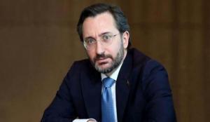 Fahrettin Altun, Kırgızistan'ın Ankara Büyükelçisi Ömüraliyev ile görüştü
