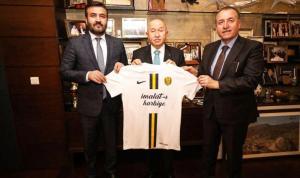 Fatih Mert'ten TFF Başkanı Nihat Özdemir'e ziyaret