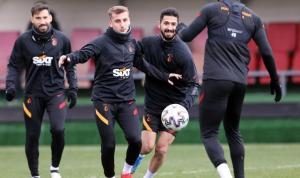 Galatasaray, BB Erzurumspor maçının hazırlıklarına devam etti