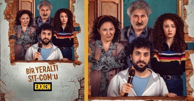 Hasan Can Kaya, Exxen'de Yayınlanacak Olan Dizisi 'Bir Yeraltı Sit-com'unun İlk Tanıtımını Yayınladı
