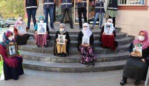 HDP önünde evlat nöbeti eylemine katılan aile sayısı 200'e yükseldi