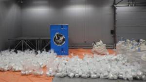 Hollanda'da 1,5 tonluk uyuşturucu operasyonu!