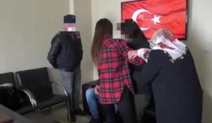İkna sonucu teslim olan kadın PKK'lı, ailesi ile buluşturuldu