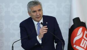 İSO Başkanı Erdal Bahçıvan'dan Kadir Topbaş için taziye mesajı